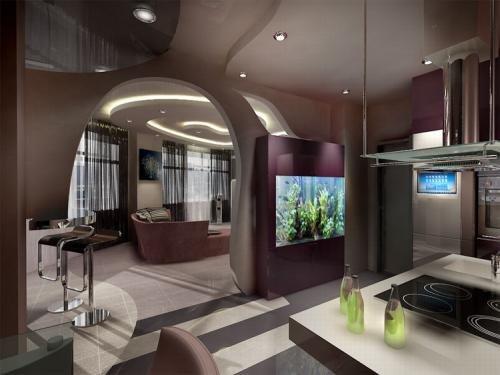 дизайн квартиры однокомнатной фото 37 кв.м.
