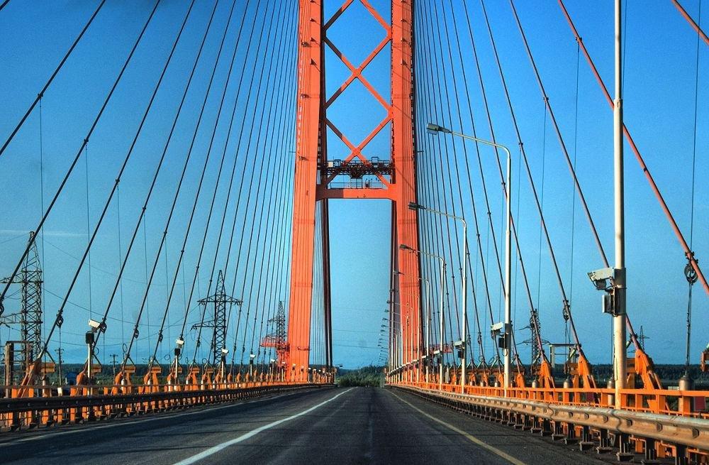 Сургутский мост через обь фото