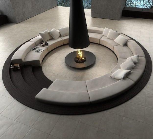 Мечтая о домашнем уюте и очаге дома, тяжело представить интерьер без камина. Ведь именно огонь – символ домашнего очага, дарит нам свет, тепло и уют.