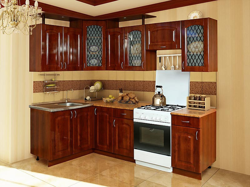 Кухни угловые малогабаритные фото