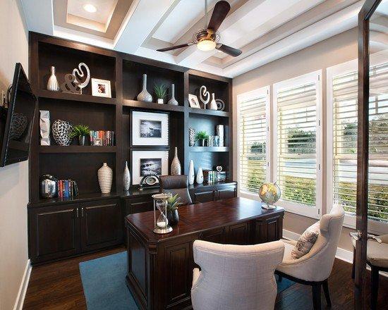 Дизайн кабинета в стиле минимализм – это уже современная классика, которую нельзя обойти своим вниманием.