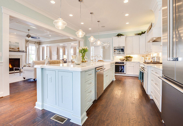 Kitchen Island Paint Color Ideas What To