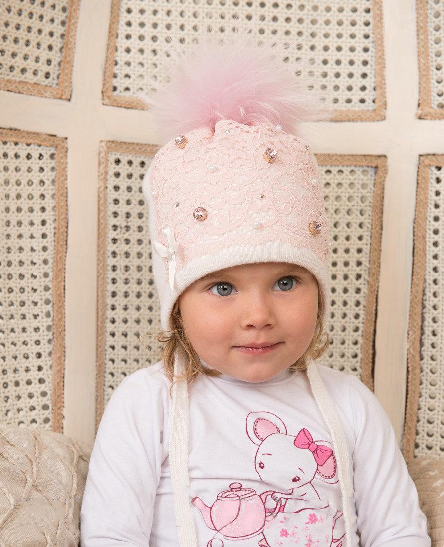 купить зимнюю шапку для девочки