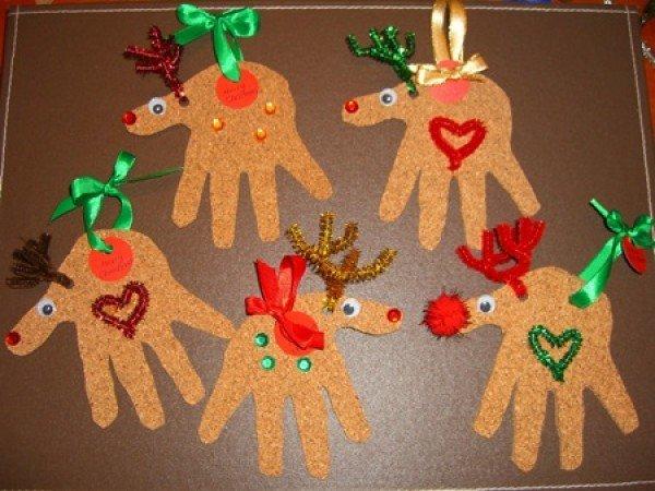 Поделки своими руками: Рождественский олень - Развитие и ... Рождественский олень – простая и милая поделка