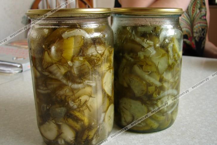 как сделать закуску из огурцов на зиму
