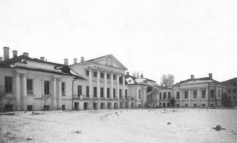 Дом графини Соллогуб. (Поварская ул.)