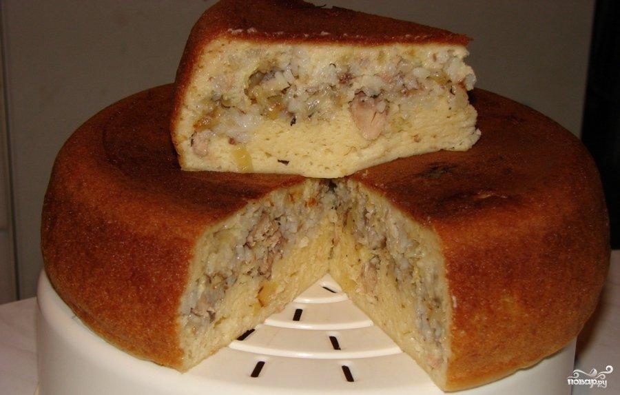 Мясная выпечка в мультиварке рецепты с фото
