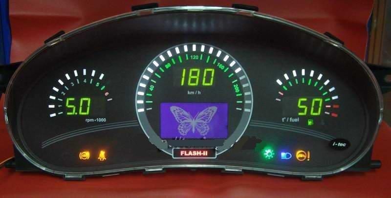 Электронная приборная панель для ВАЗ