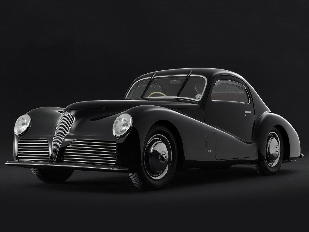 Alfa Romeo 6C 2500 SS '1942 дизайн Bertone