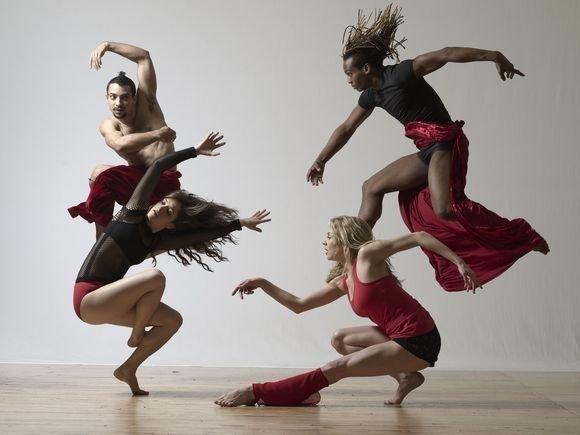 танец фотосессия