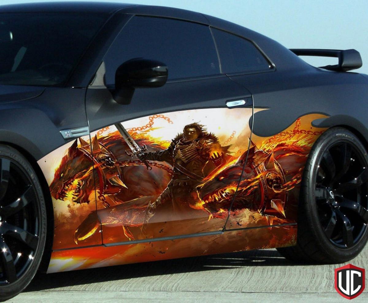 Крутые рисунки на авто фото