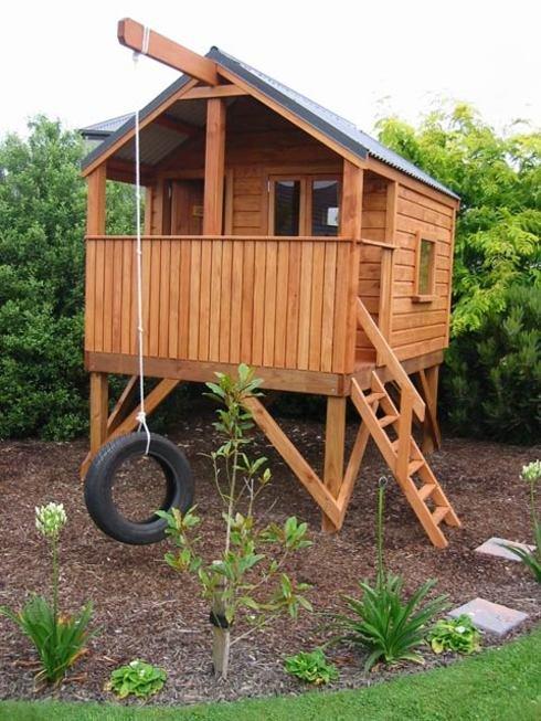 Домик для детей из дерева