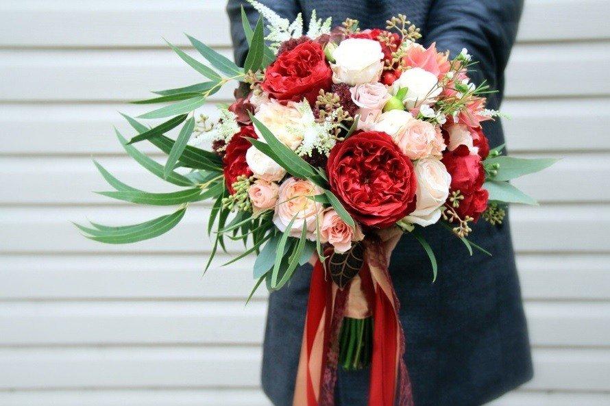 Букет невесты, свадебный букет невесты заказать 73