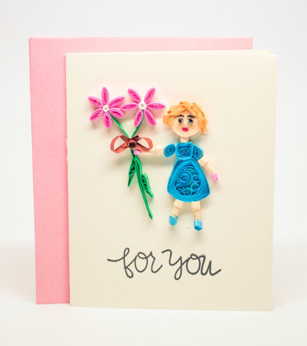 Открытка для мамы от дочки 4 лет своими руками, картинки тему отношений