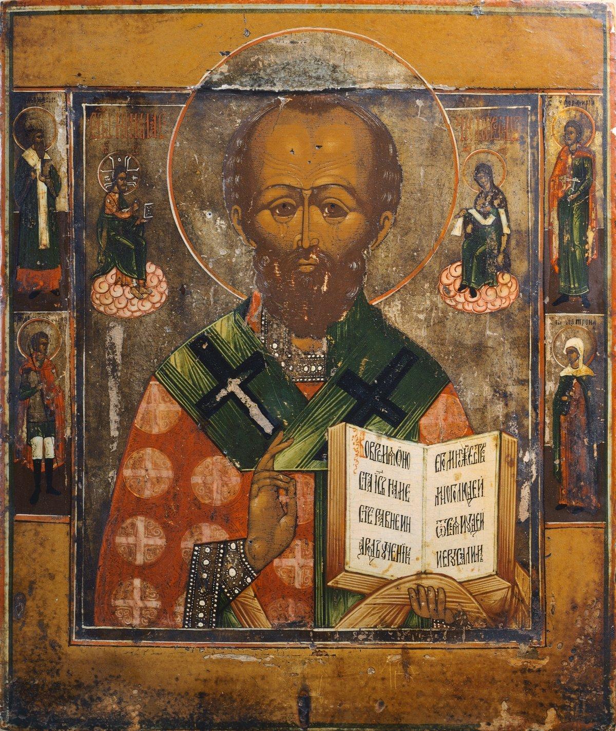 Изображение святых на иконах в картинках