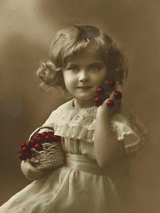 Для открыток, ретро открытки фото детей