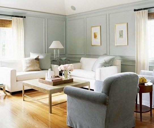 Сочетание серого цвета с другими цветами в интерьере гостиной