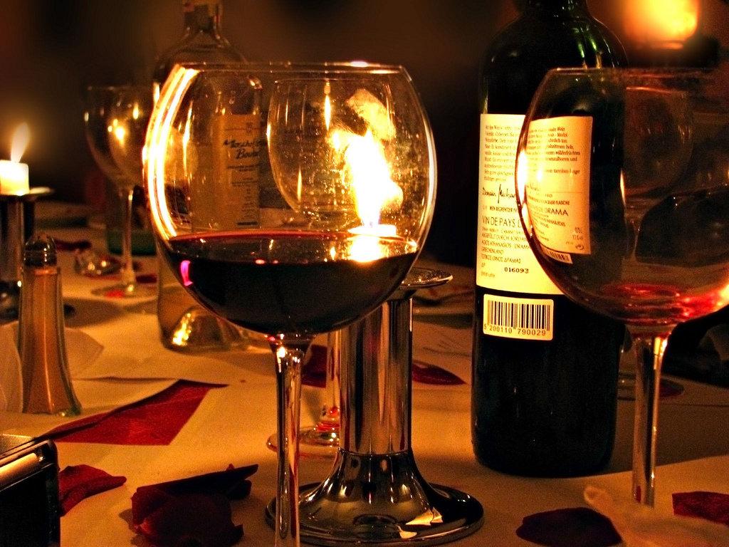 излучателя красивые картинки вино вечером жизнь, знакомство