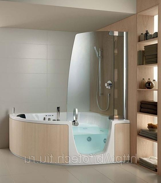 Гидромассажная ванна с душ..