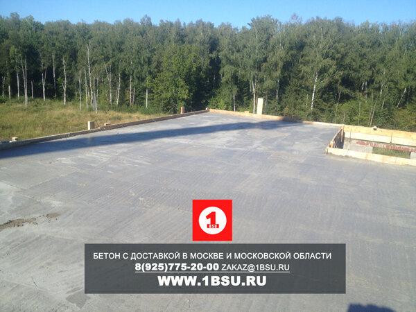 подача бетона М400 на Минском шоссе