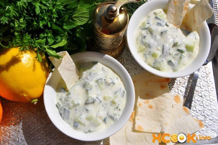 Как приготовить греческий соус дзадзики