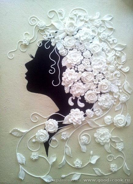 картины из глины полимерной фото