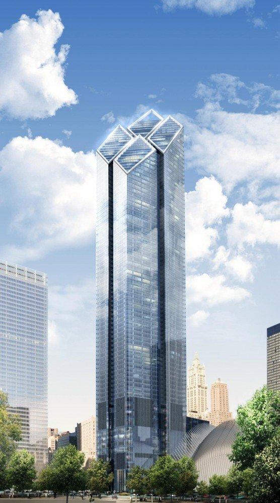 81-этажное офисное здание высотой 410 метров (проект)