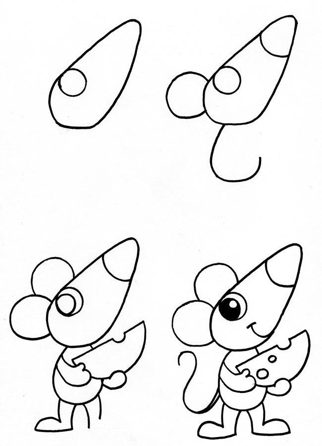 Детские картинки чтоб срисовать