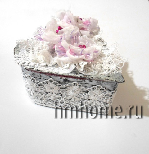 Архивы шебби-шик - Домашний hand-made Шкатулка в стиле shebby-chic