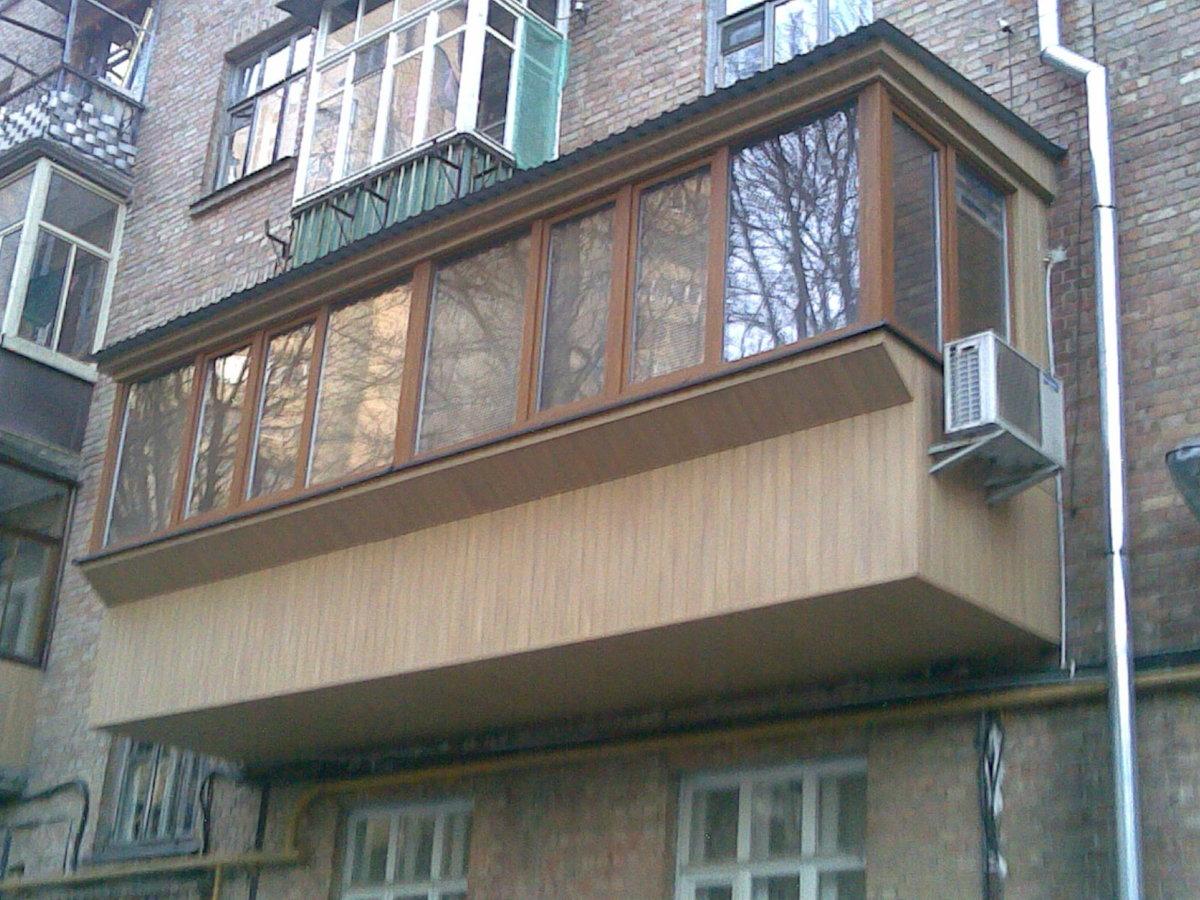 """Балкон в хрущевке с выносом на две комнаты"""" - карточка польз."""