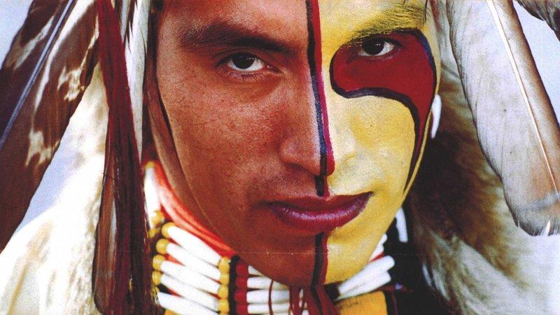 Макияж индейца