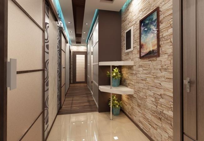 К ремонту коридора стоит подходить так же ответственно, как и к обустройству других комнат в квартире. Используя некоторые простые приемы, его можно буквально преобразить в лучшую сторону.
