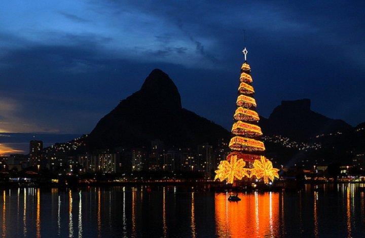 Главная елка Рио де Жанейро