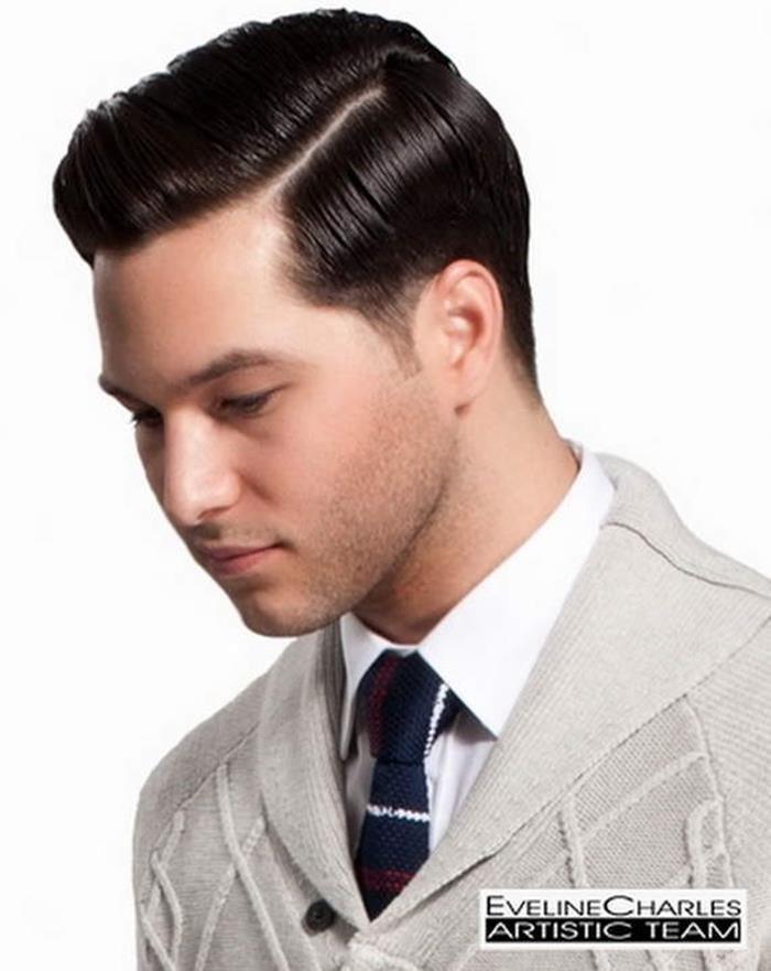 Современные причёски для парней 21