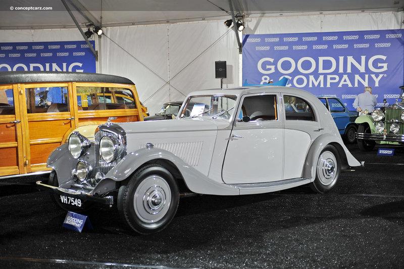 Bentley 3 ½ Litre Aerodynamic Saloon by Rippon Bros.