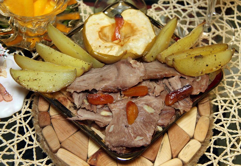 Блюда из гуся кусочками рецепты с фото