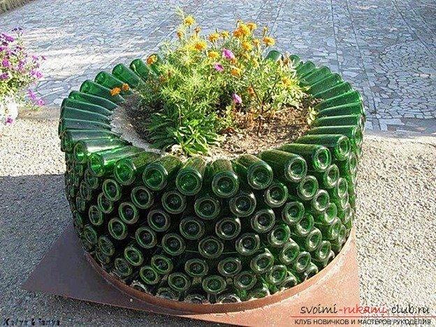 Делаем оригинальные поделки для сада своими руками