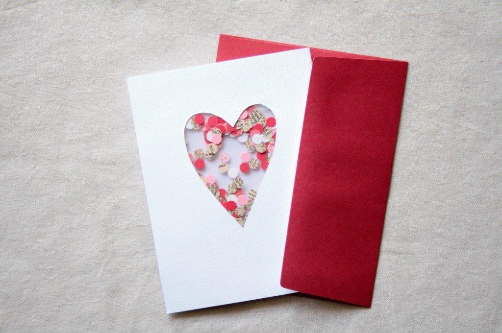 Открытки руками на валентинов день, открытка днем
