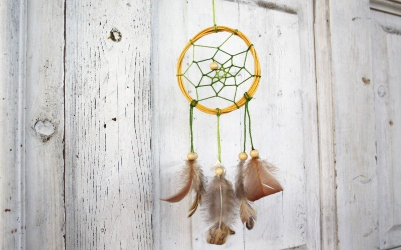 Приручаем паутинку: плетем амулет «Ловец снов»