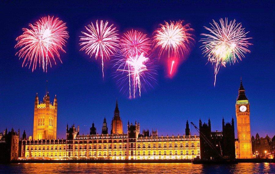 новый год великобритании тратить