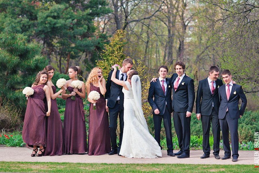 Трах без жених и подруга невесты круглых поп