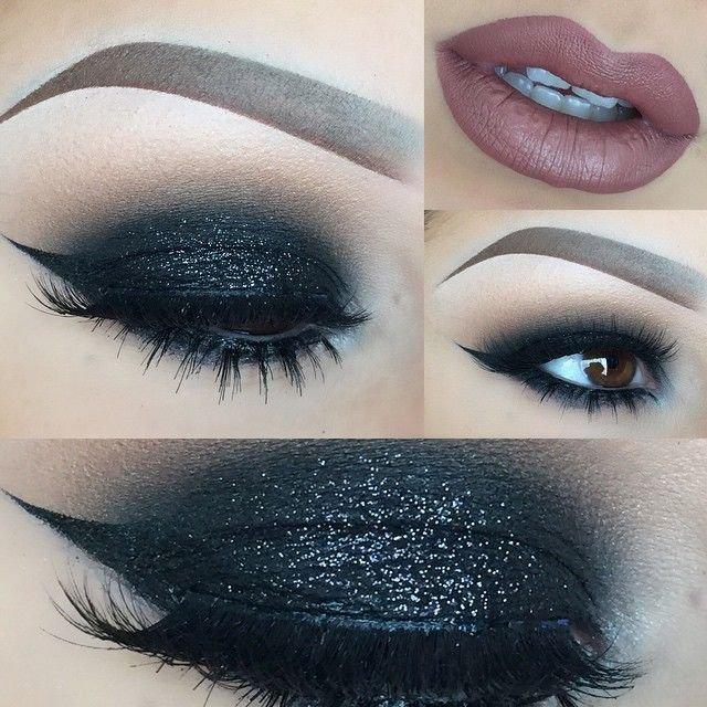 1000 Ideas About Black Eye Makeup On Pinterest Makeup With Red