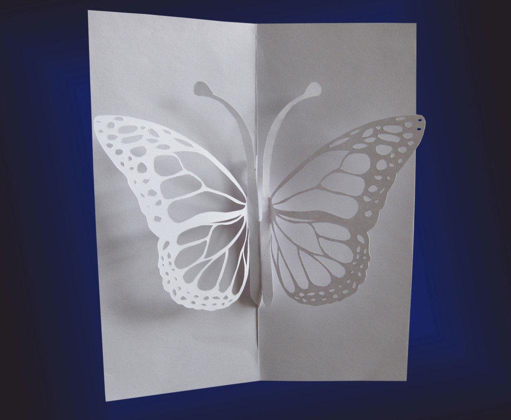 Милые, объемные открытки из бумаги своими