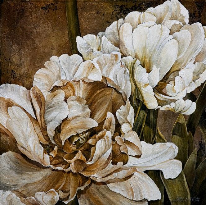 Картины с красивыми цветами 171