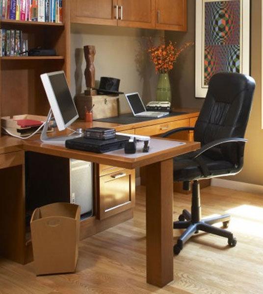 Мебель своими руками из ДСП для кабинета