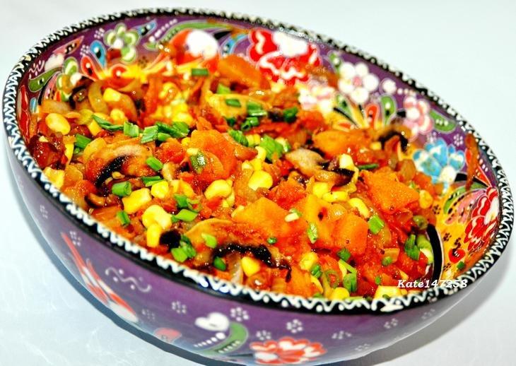 Осенний салаты из фруктов с фото