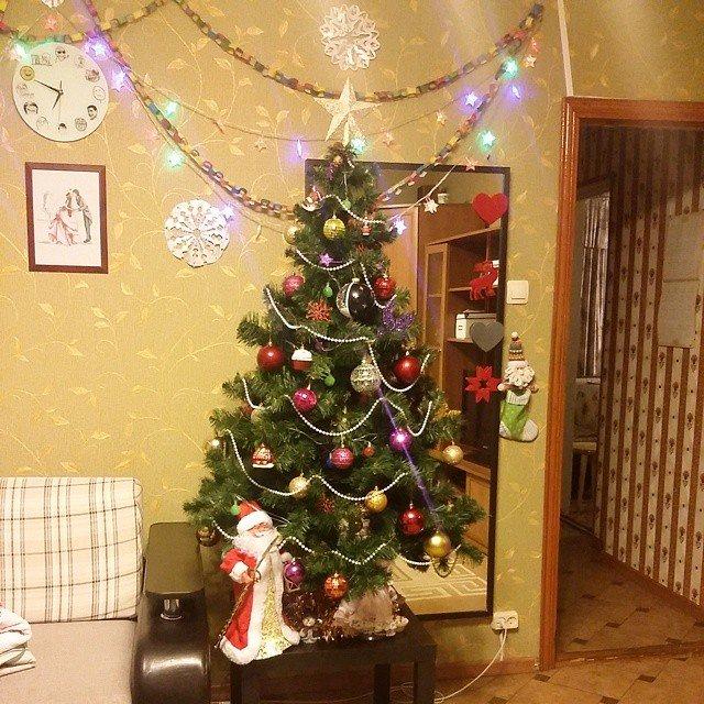 Фото украшение комнаты на год