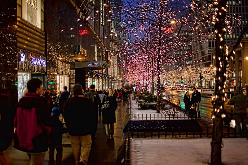 Рождественские ярмарки в Чикаго
