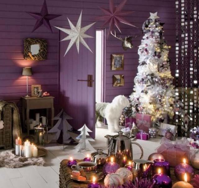 Мастеров сарказм, картинки елок на новый год украшенные в фиолетовом цвете