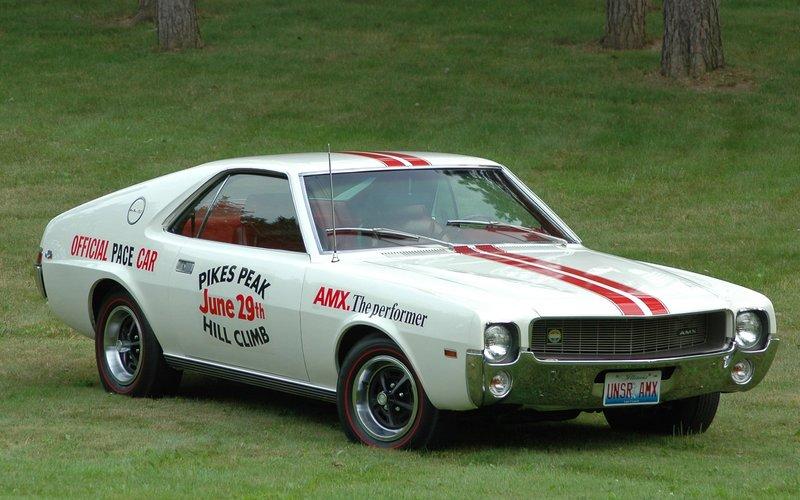 AMC AMX Pikes Peak Pace Car '1969